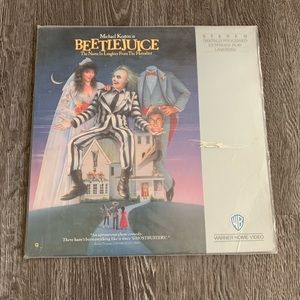 Other - Beetlejuice Extended Play Laserdisc